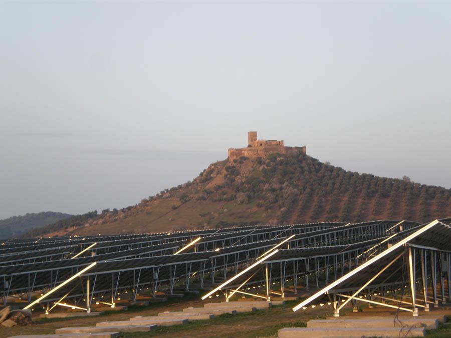 Planta Solar. Energías renovables